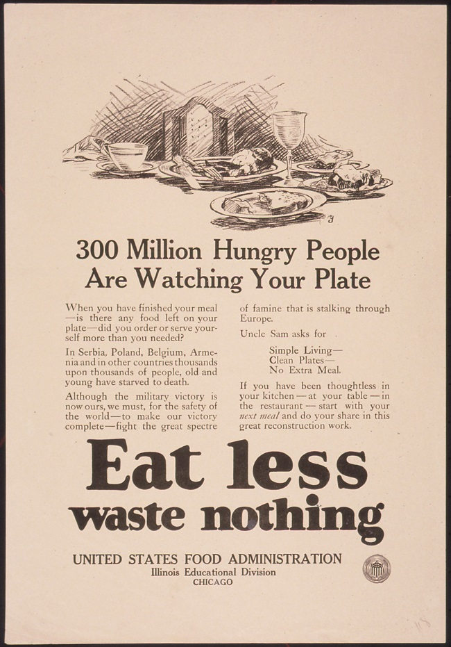 Wasting AND Wanting: Food Waste in America